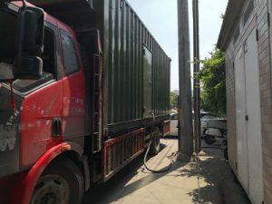 宁波小天使幼儿园应急租赁200kw发电机组供电