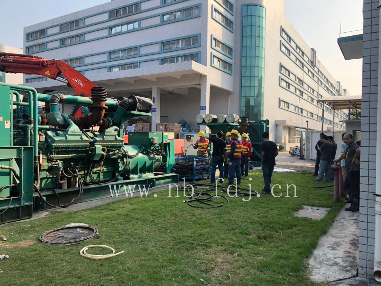 余姚服装工厂租赁200kw发电机组双十一备用