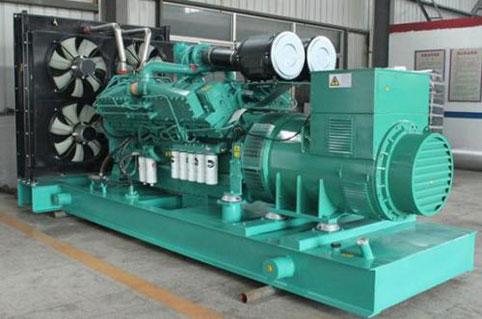 400kw上柴柴油发电机组图片