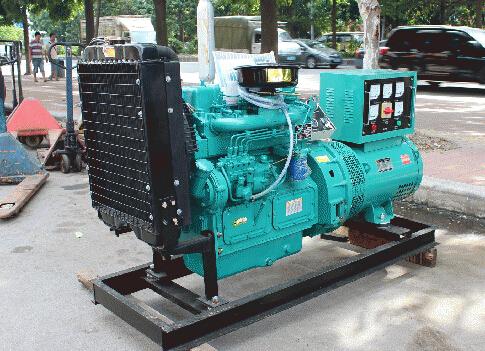 宁波二手本田30kw小型柴油发电机组