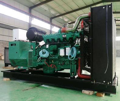 宁波宁海泰豪500kw大型柴油发电机组