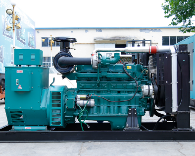 宁波宁海泰豪300kw大型柴油发电机组